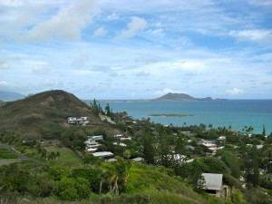 photo overlooking Kailua Bay
